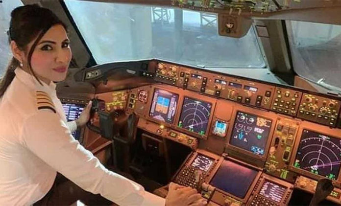 air india women pilot set historic record
