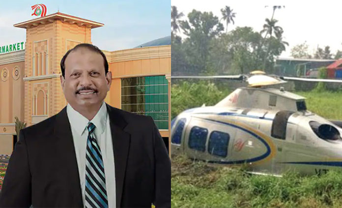 lulu mall yusuf ali helicopter landed safely