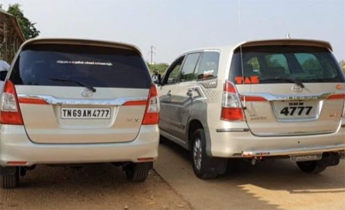 same number plate innova