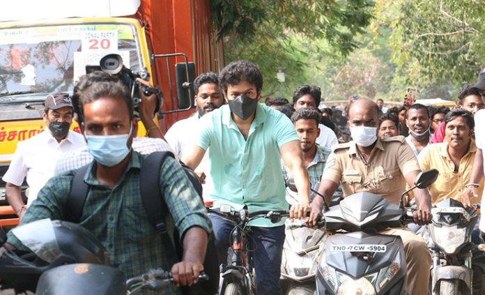 vijay cycling