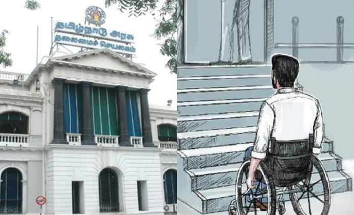 tamilnadu government says disable employees no need to workwork