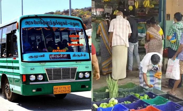 service only tow days in tamilnadu
