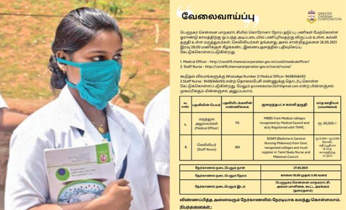 staff nurse vaccancies