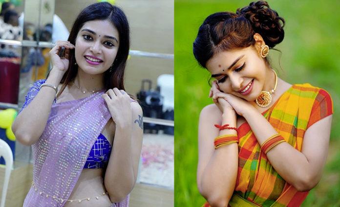 dharsha gupta unseen village girl photoshoot